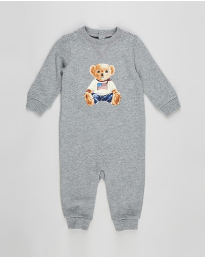 Polo Ralph Lauren - ICONIC EXCLUSIVE - Bear Coverall - Babies