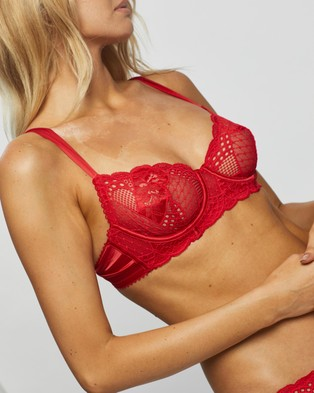 Bendon Underwire Bra - Underwire Bras (Red)