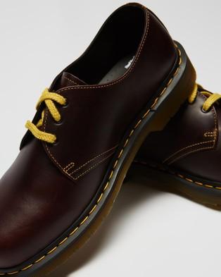 Dr Martens 1461 Atlas Leather Oxford Shoes   Men's - Dress Shoes (Oxblood)