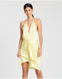 Manning Cartell - EXCLUSIVE Miami Heat Drape Dress