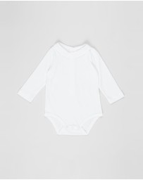 Bebe by Minihaha - Charles Collared Bodysuit - Babies