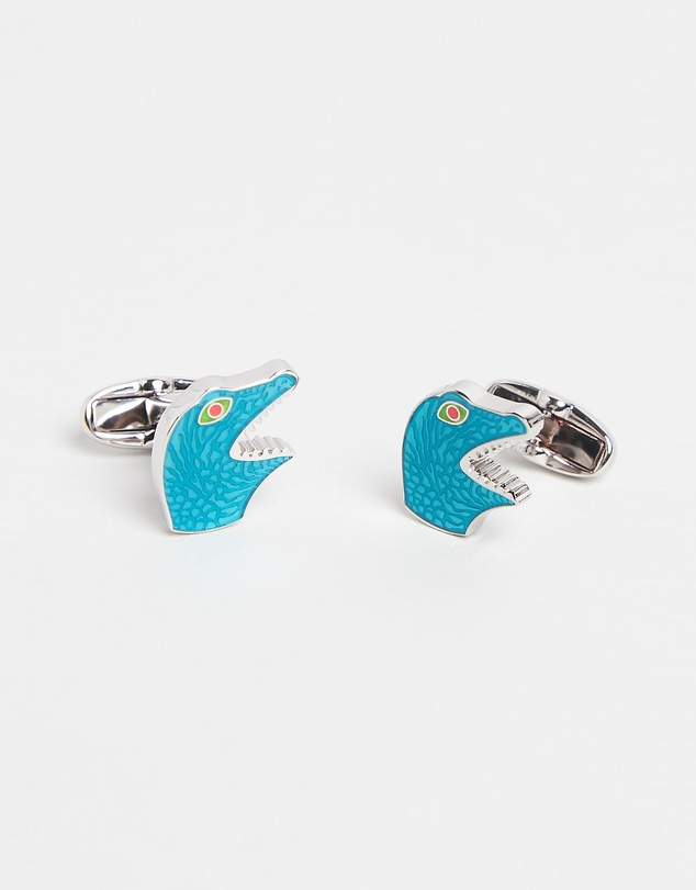 Paul Smith - Dinosaur Head Cufflinks