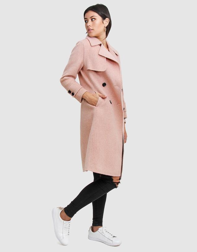 Women Endless Attention Wool Coat