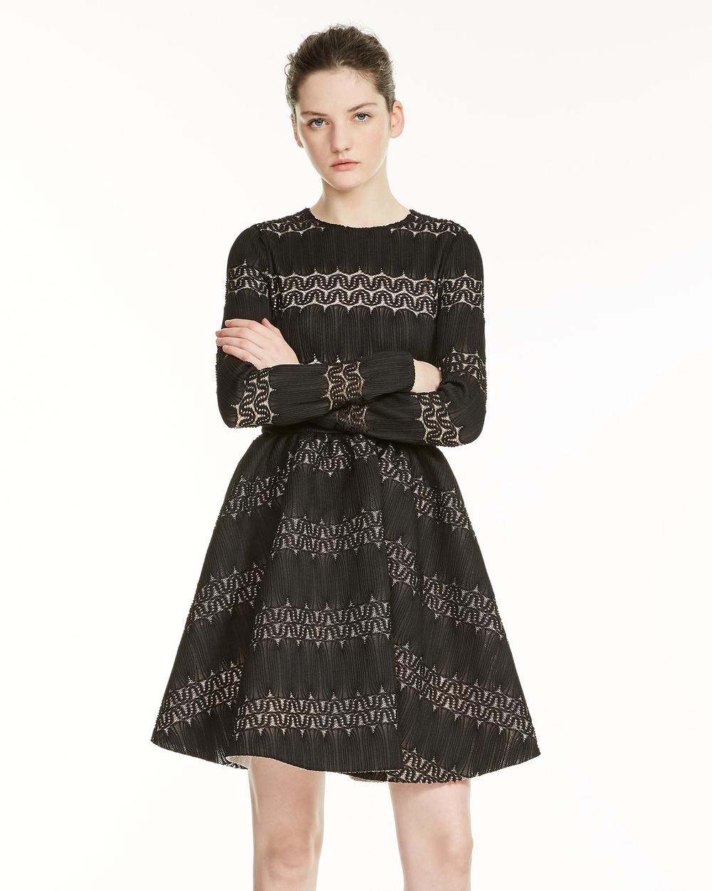 Maje Relane Dress Dresses Black Relane Dress