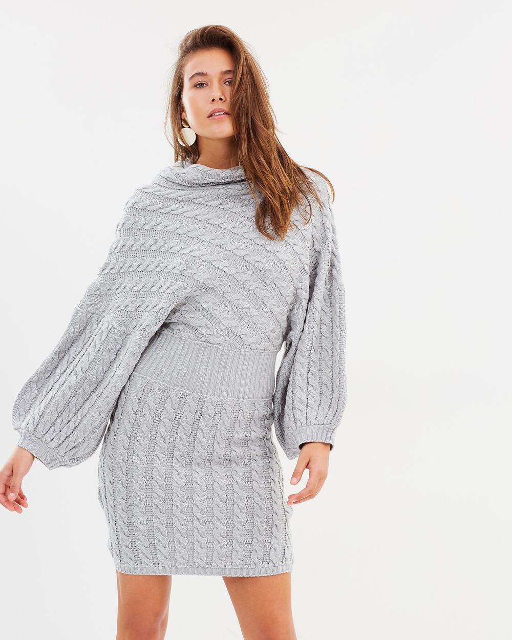 Maurie & Eve Devotion Dress Dresses Grey Devotion Dress