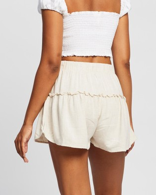 All About Eve Falling In Love Shorts - Shorts (Natural)
