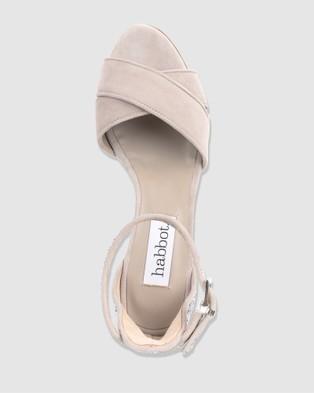 Habbot Pepe Mid Heel Sandals - Sandals (Silver)