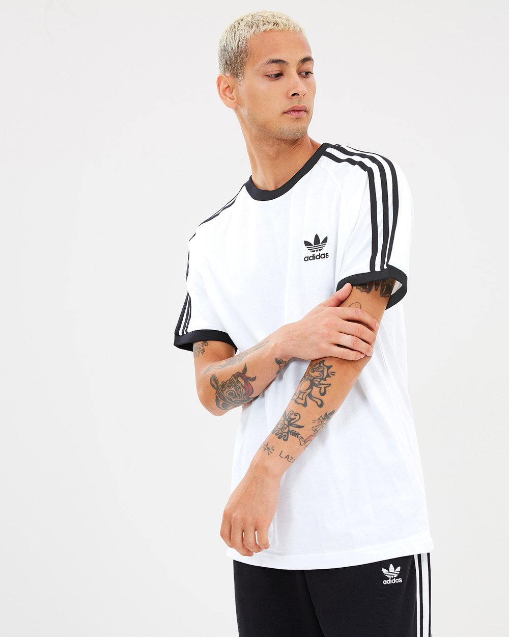 fd2cadc8 3-Stripes Tee by adidas Originals Online | THE ICONIC | Australia