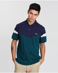 Retro Colour-Block Polo