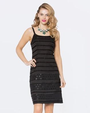 Alannah Hill – Dangerously Liaison Dress Black