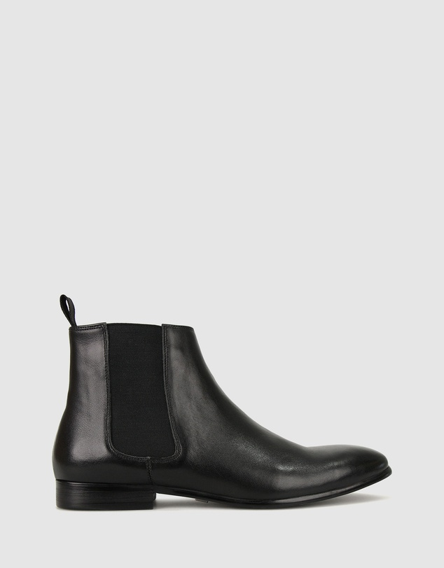 ZU - Liam Leather Chelsea Boots