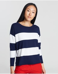 North Sails - Round Neck Kitted Jumper