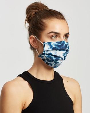 M.N.G Face Mask   2 Pack - Face Masks (Pastel Blue)