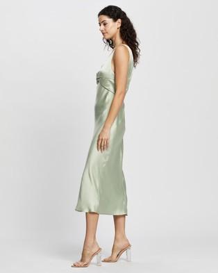 Pasduchas Wanderlust Twist Midi - Dresses (Sage)