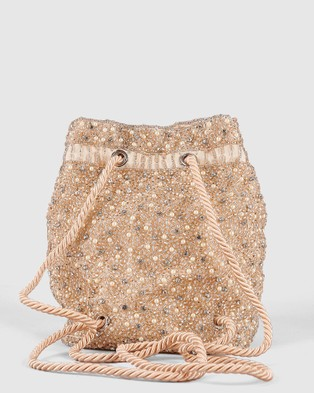 From St Xavier Mini Pearl Backpack - Backpacks (Champagne)