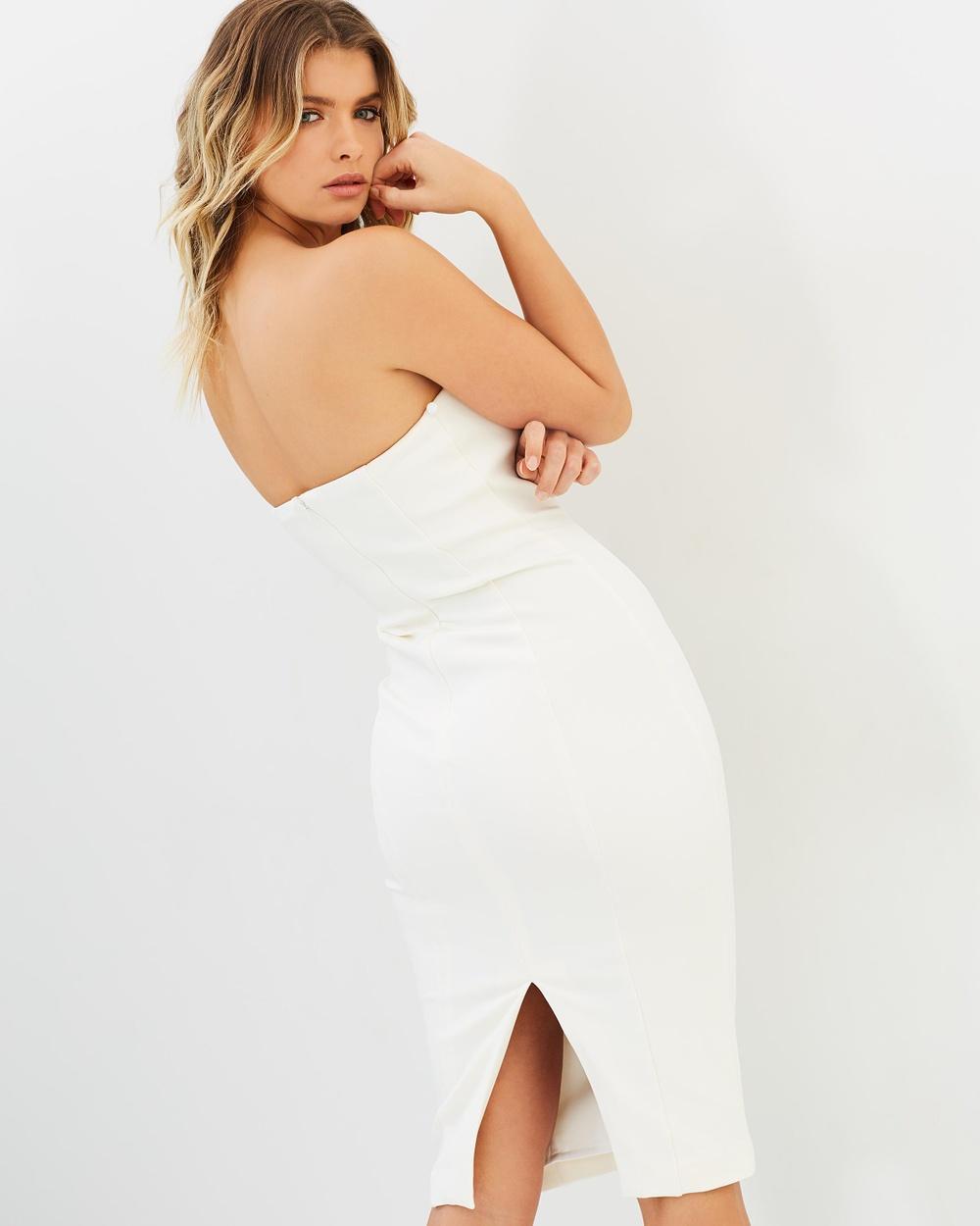 Misha Collection Merena Bandage Dress Dresses Ivory Merena Bandage Dress