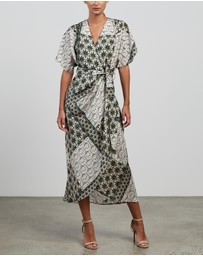 Ginger & Smart - Reframe Wrap Dress