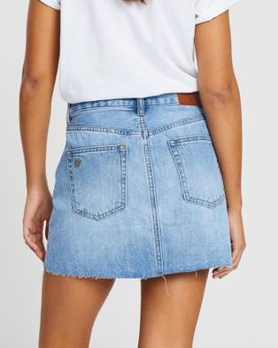 Silent Theory - Venice Denim Skirt - Denim skirts (DENIM) Venice Denim Skirt