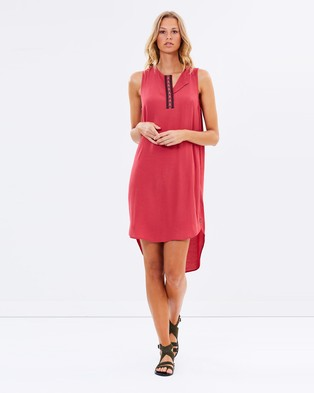 Maison Scotch – Longer Length Viscose Dress – Dresses (Colour 38)
