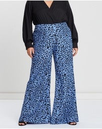 Atmos&Here Curvy - Palazzo Pants