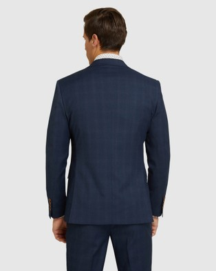 Oxford Byron Eco Checked Suit Set - Suits & Blazers (Blue)