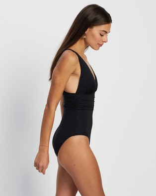 St. Swim Amalfi One Piece - One-Piece / Swimsuit (Black)
