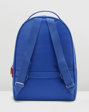 Lipault Paris Lady Plume Bi Colour Backpack Medium - Backpacks (Blue)