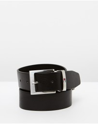 Tommy Hilfiger - Grained Leather Belt