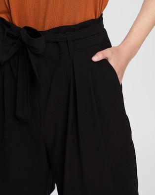 M.N.G Mar Shorts - High-Waisted (Black)