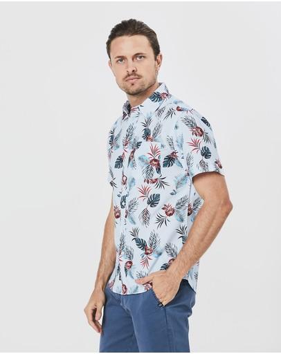 Coast Clothing Destination Shirt Blue
