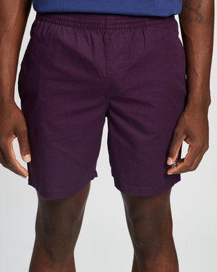 Stussy Basic Stock Beachshorts - Shorts (Aubergine)