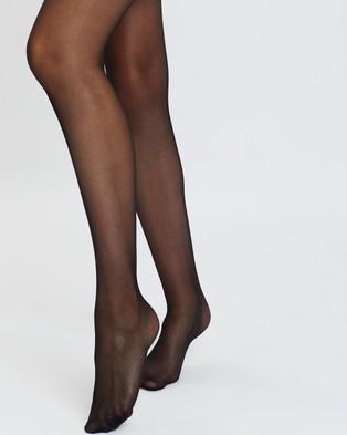 The Legwear Company 2 Pack 20 Denier Support Tights - Full Length (Black)