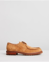 Double Oak Mills - Werth Suede Derby Shoes