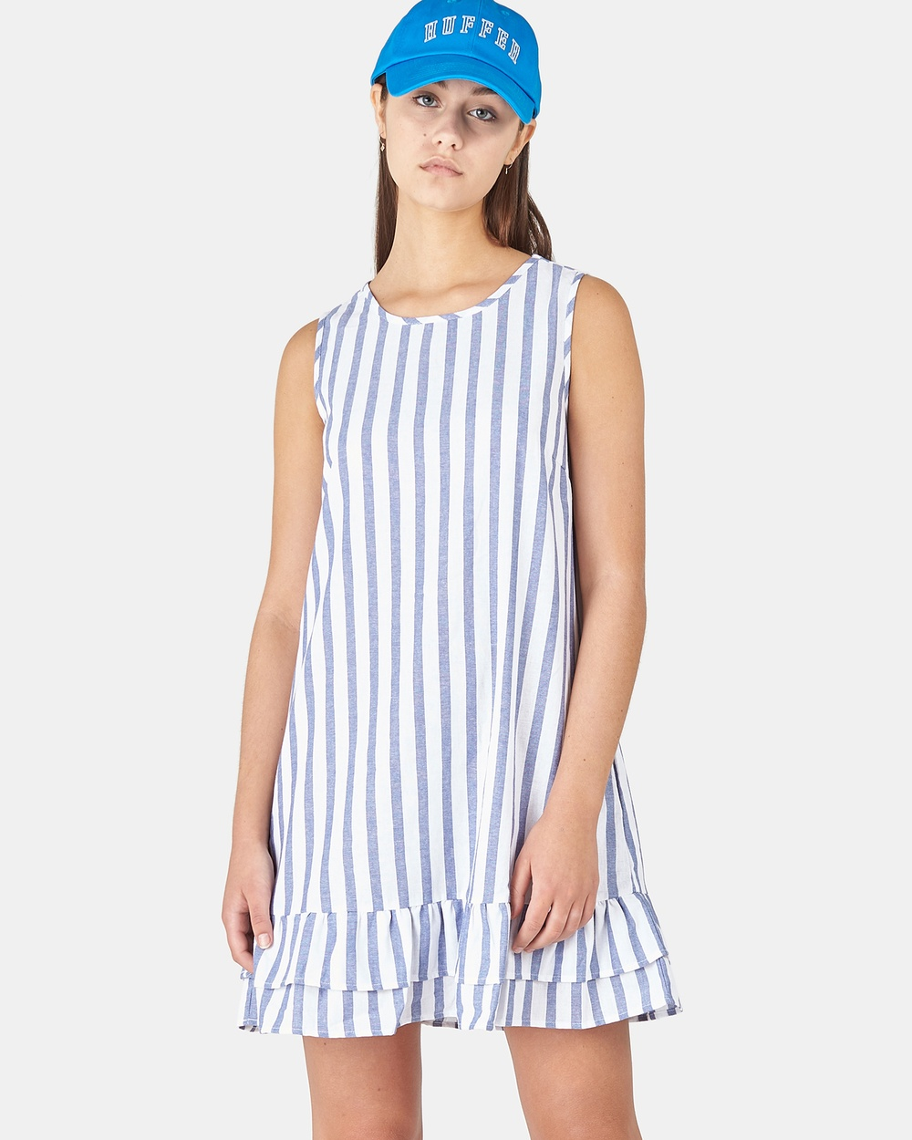 Huffer BLUE/WHITE Hooper Lila Dress