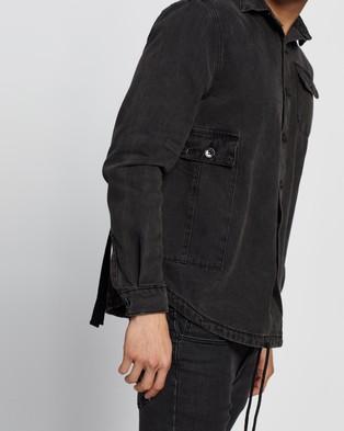 Commune Long Sleeve Denim Shirt - Casual shirts (Black)