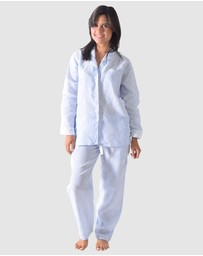 Sant And Abel - Bora Bora Linen Shirt + PJ Pant Set