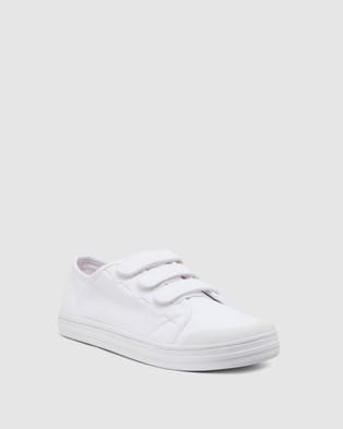 Ravella Vessie - Slip-On Sneakers (WHITE)