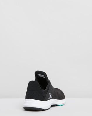 Salomon Amphib Bold Shoes   Women's - Hiking & Trail (Black, White & Electric Green)