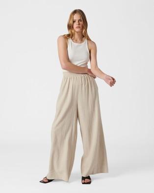 MVN Aloha Pants - Pants (Beige)