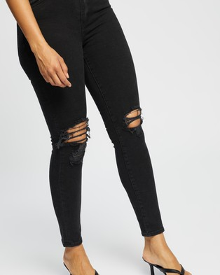 Neuw Marilyn Skinny Jeans - Jeans (Busted Black)