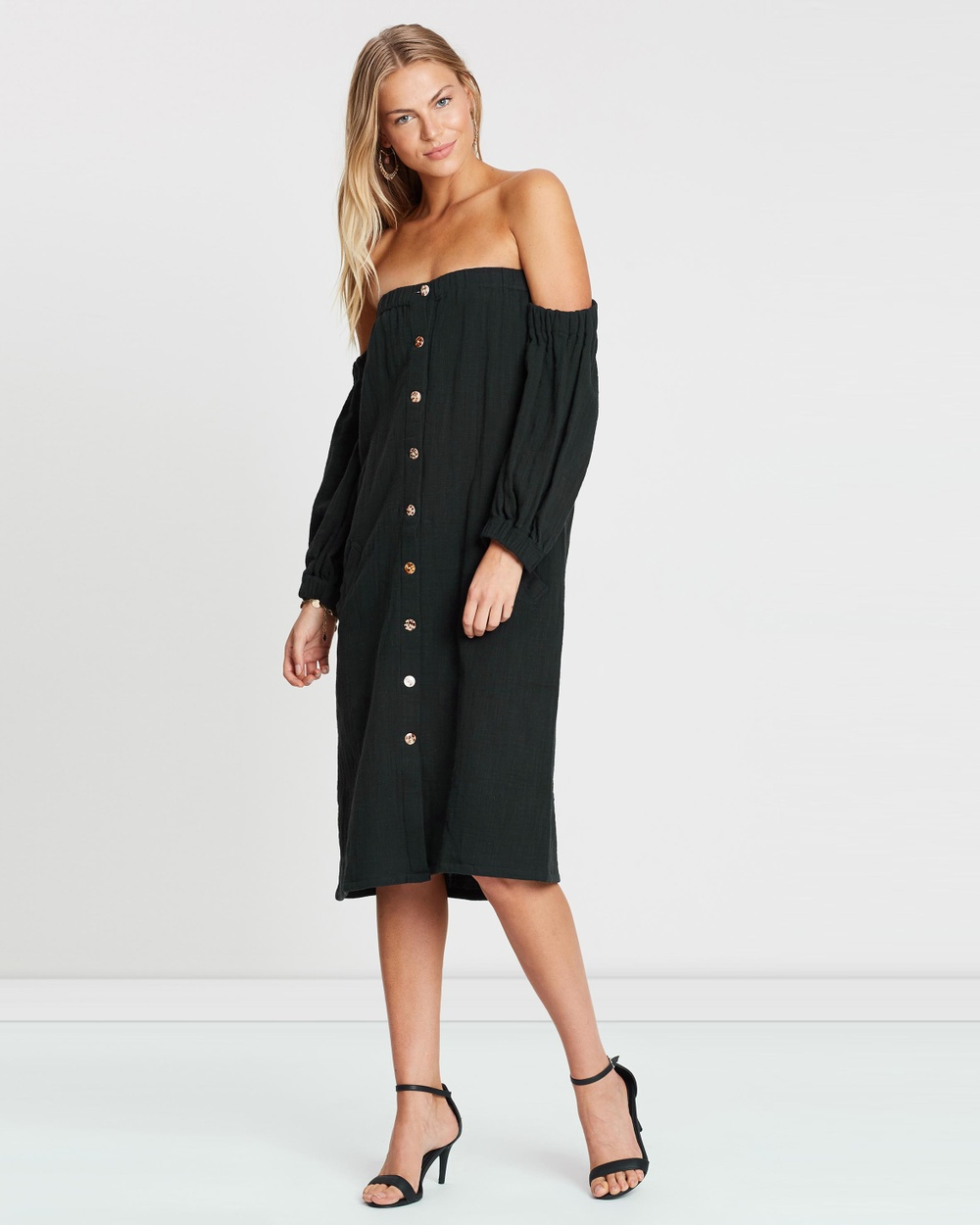 Maurie & Eve Charcoal Real Love Dress