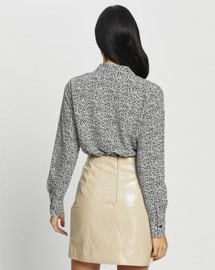 Glamorous Dalmatian Shirt Bodysuit - Tops (Dalmatian Spot)