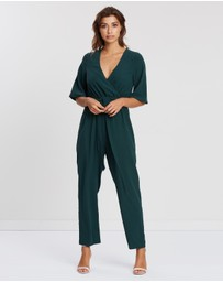 Atmos&Here - ICONIC EXCLUSIVE - Flare Sleeve Jumpsuit
