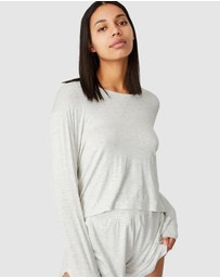 Cotton On Body - Sleep Recovery Crop Long Sleeve