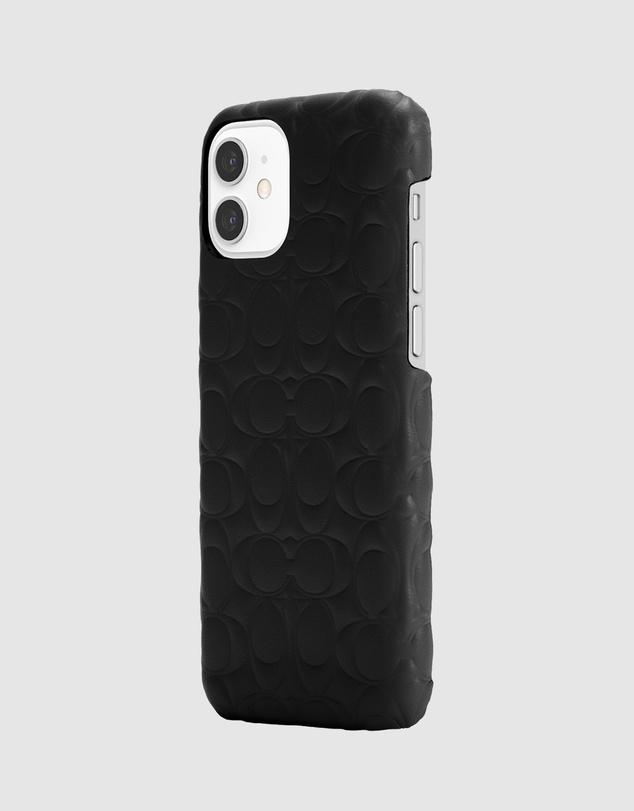 Women iPhone 12 Mini - Leather Slim Wrap Case