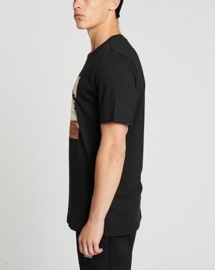 adidas Performance - Athletics Graphic Tee - Short Sleeve T-Shirts (Black) Athletics Graphic Tee