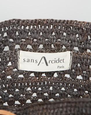 Sans Arcidet Paris Beby Bag Cuir Small - Handbags (Orage)