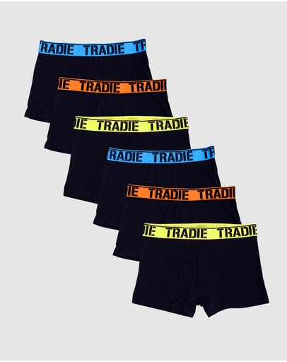 TRADIE - Tradie Fitted 6pk Trunks