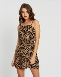 Missguided Petite - Leopard Print Cami Dress