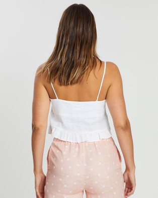 White By FTL Edie Crop Top - Cropped tops (White)